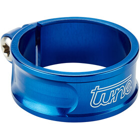 Tune Schraubwürger Collier de tige de selle Ø30mm, blue